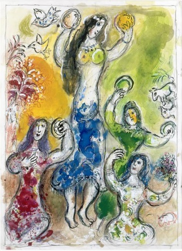 Marc Chagall, La danza di Myriam